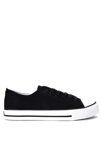 Italianos black Bert Sneakers IT153SH93OPEPH_1