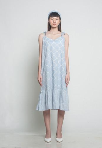 OEMAH ETNIK blue Blue Tibi Batik Dress 4CDD4AA09E1885GS_1