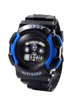 Franz Unisex Silicone Strap Sports Watch XT-69