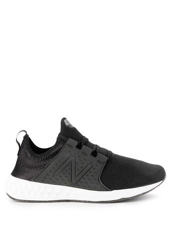 New Balance black Fresh Foam Cruz 3DC73SH2FE5A34GS_1