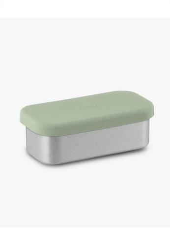 Viida [VIIDA] The Morgen Series Kasten Stainless Steel Lunch Box (Small) Green with Leak-proof lid - LFGB Germany & Safe BDBB0HLB0C87B9GS_1