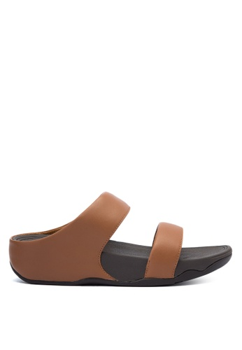 496b80f40860d Shop Fitflop Lulu Leather Slides Online on ZALORA Philippines