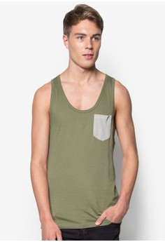 Low Neck Tank Top