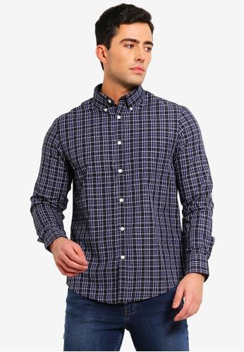 OVS 黑色 Mens Formal 襯衫 With 長袖 6BD4FAA2D03EA5GS_1