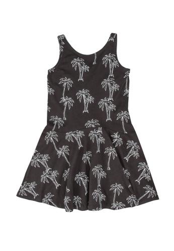 FOX Kids & Baby grey All Over Printed Jersey Dress 4C44EKA8F17410GS_1