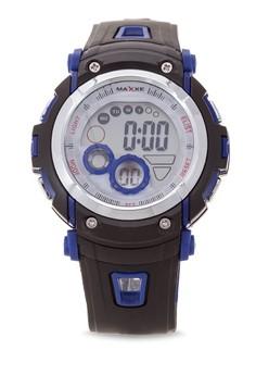 Unisex Rubber Strap Watch MXJ 8570116