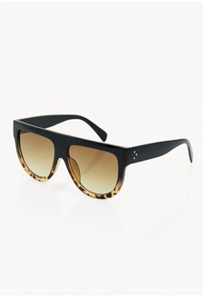 0f66d5845cc6 Oversized Tinted lens sunglasses - Brown CA5D3GL25354D5GS 1 Pomelo ...