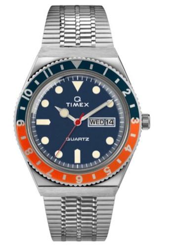Timex orange Q Timex Reissue Diver Inspired  38mm Men's Stainless Steel Bracelet Watch - TW2U61100 ADA65AC17FF6D4GS_1