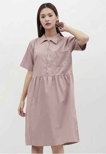 madeleine brown POPPY BROWN DRESS 5EB98AAFC90943GS_1