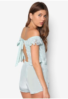 Laura Lace Layer Playsuit