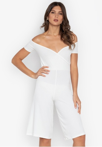 ae65fdfb629 Shop Ashley Collection Off Shoulder Culottes Jumpsuit Online on ZALORA  Philippines