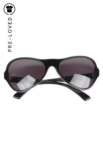 MARNI black Pre-Loved marni Black Sunglasses A9768GLBB4E6A1GS_1