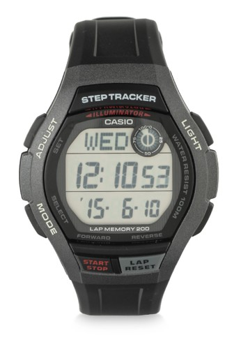 Casio black Casio Digital Watch WS-2000H-1AVDF Black 936A9AC8410A79GS_1