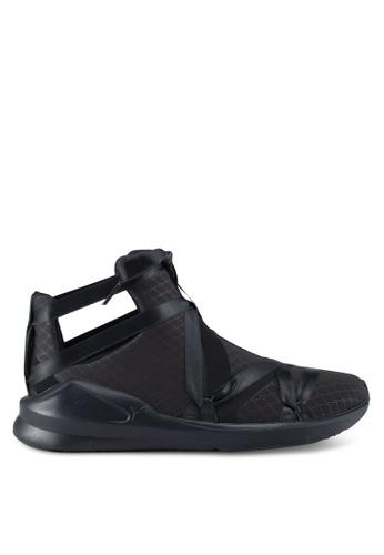 Puma black Fierce Rope Satin Ep Shoes PU549SH0SWD9MY_1