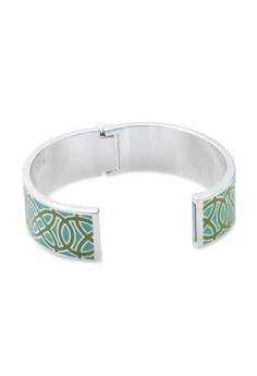 Stella and Dot Eleonor Bangle – Turquoise and Green