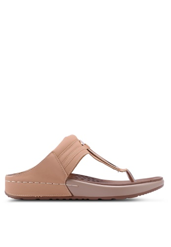 Spiffy brown Soft and Comfort Series Ladies Slip-on Sandals 8E9EBSH420FD82GS_1