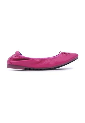 Flatss & Heelss by Rad Russel pink Soft Ribbon Flats - Pink 80588SH708A7BEGS_1