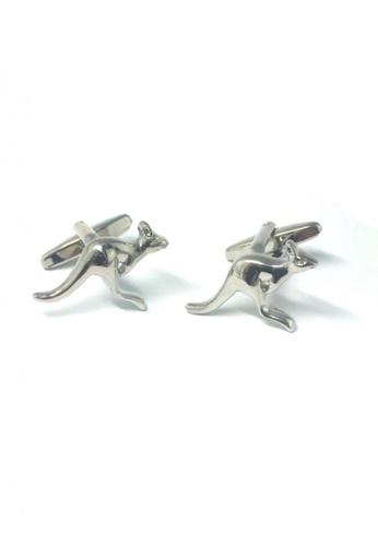 Splice Cufflinks silver Silver Kangaroo Cufflinks   SP744AC86DSJSG_1