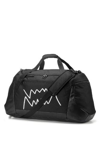 Puma black Basketball Large Duffle Bag 049E6AC52762D1GS_1