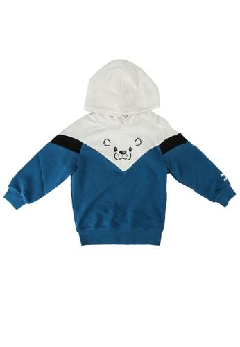 PUMA blue Animals MCS Hoodie 3D0A6KABB24225GS_1
