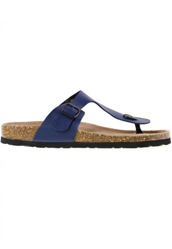 Tomaz navy Tomaz M21 Strap Sandal (Navy) TO717SH68YRVMY_1