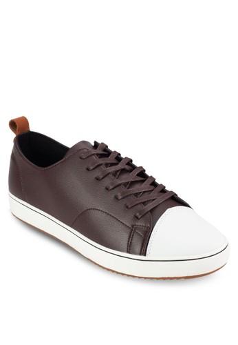 麂皮皮革繫帶休閒鞋, 鞋, esprit hong kong鞋