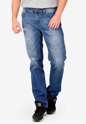 SJO & SIMPAPLY blue SIMPAPLY's Centrin Medium Blue Men's Jeans EA1C6AA0306A8AGS_1