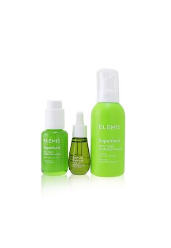 ELEMIS ELEMIS - Superfood Superstars Set: CICA Calm Cleansing Foam 180ml+ CICA Calm Hydration Juice 50ml+ Facial Oil 15m 3pcs 8B8F6BEBAF68D7GS_1