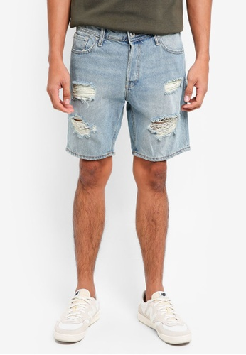 Jack & Jones blue Rick Denim Shorts F44BDAA9312C57GS_1