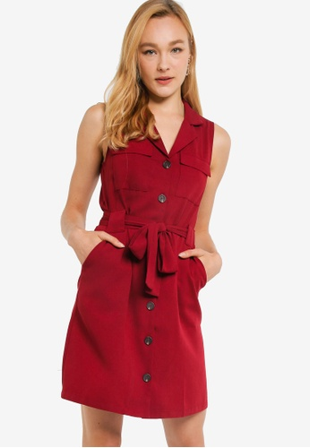 factory outlets reasonable price another chance Shop ZALORA Sleeveless Button Down Dress Online on ZALORA Philippines