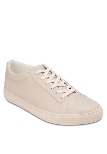 仿皮zalora 手錶暗紋繫帶休閒鞋, 鞋, 休閒鞋