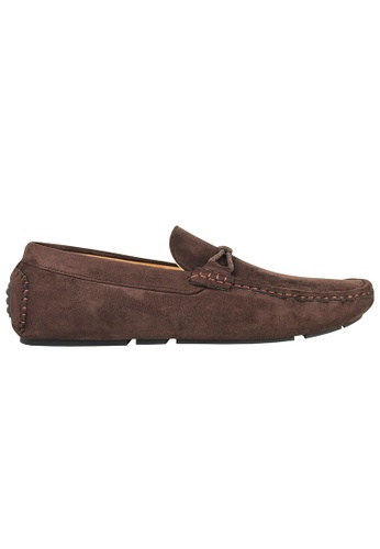 Tomaz brown Tomaz C228A Bow Slip On Loafers (Coffee) CD621SH799749BGS_1