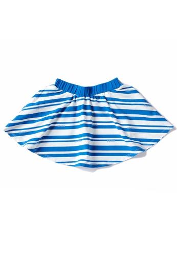 Vauva white and blue Vauva Hauska Girls Sailor Skirt 49C85KABBA1F25GS_1
