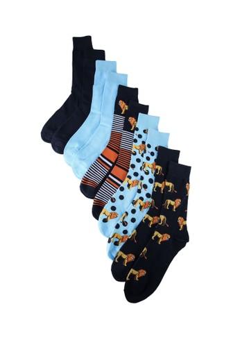 Jack & Jones multi Lion Socks 5 Pack 95E0DAA2284D25GS_1
