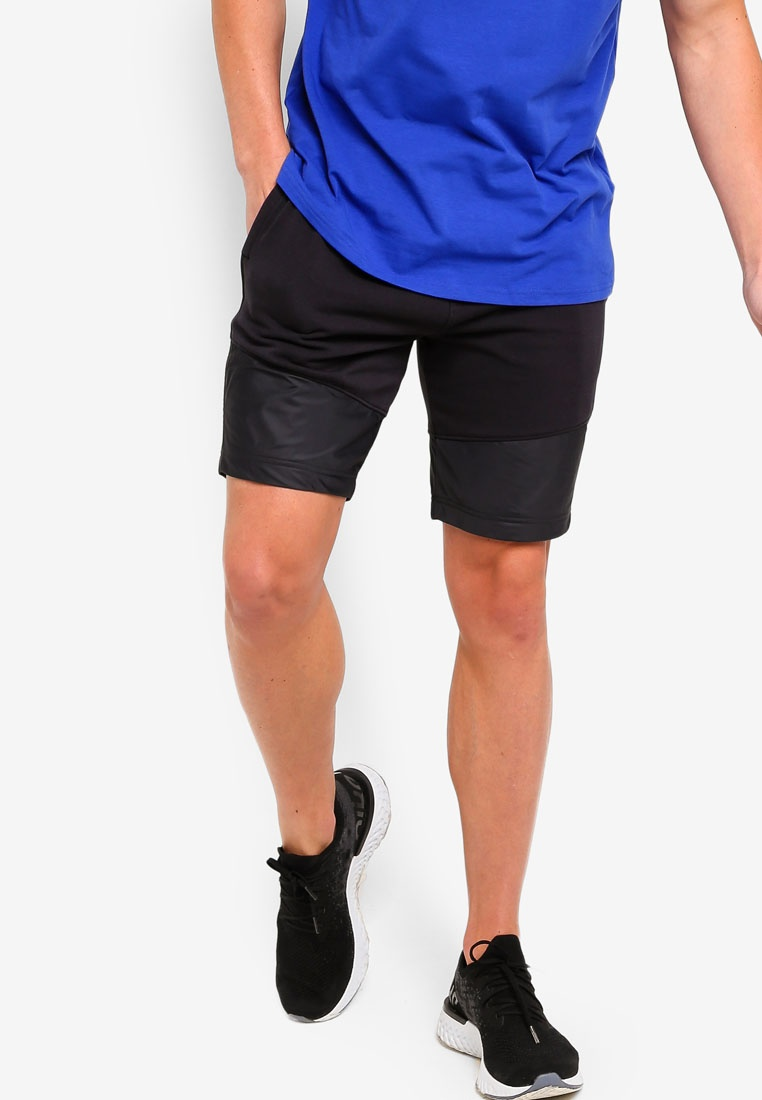 Armour Black Threadborne Shorts Terry Black Under qw8Rv0