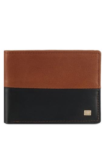 Billabong brown Downtown Slim Wallet BI783AC0SXSCMY_1