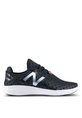 New Balance black COAS Vazee Performance Running Shoes NE323SH0SXN8MY_1