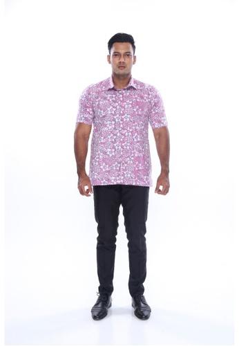 Amar Amran pink Kemeja Batik Malaysia 37B60AA9446E7AGS_1