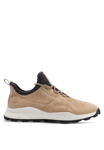 Timberland beige Brooklyn Oxford Sneakers 8926CSH4F4A0BAGS_1