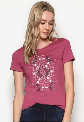 圖文精緻T 恤、 服飾、 T-shirtESPRIT圖文設計T恤最新折價