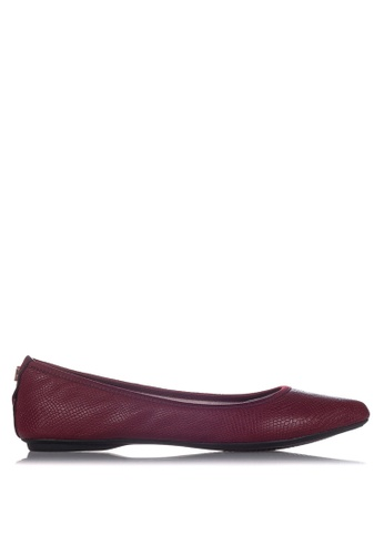 Butterfly Twists red Janey Flats B671DSHEFE2424GS_1