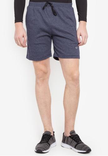 Allstar blue Cotton Terry Walking Shorts 1648BAAF8A99C6GS_1
