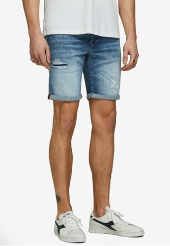 Jack & Jones blue Rick Denim Shorts 48683AAAA1ABF7GS_1