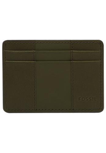 Fossil green Everett Card Case ML4398386 86505ACCC7C3BAGS_1