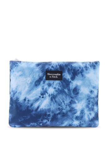Abercrombie & Fitch blue Swim Pouch FFD79KC3FB3CD2GS_1