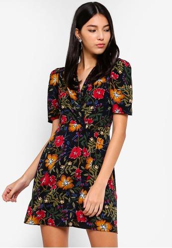 2e46afac4132 Buy ZALORA Twisted Waist Dress Online on ZALORA Singapore