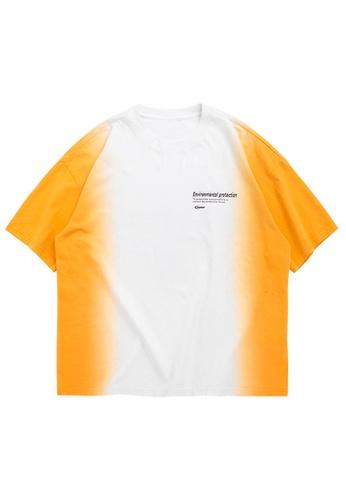Twenty Eight Shoes Dip-Dyed Printed Short T-Shirt 1198S20 B943CAAD03130DGS_1
