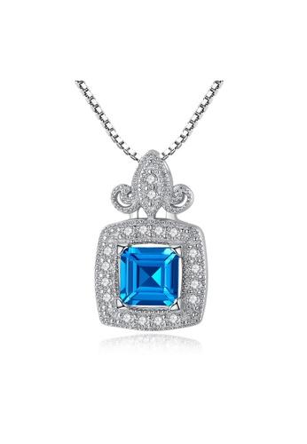 SUNRAIS silver Premium Silver S925 Silver Fashion Necklace 8A0E8AC55221C1GS_1