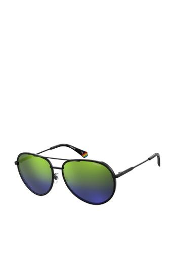 Polaroid blue Polaroid 6116/G/S Sunglasses B81E3GL2B34FA5GS_1