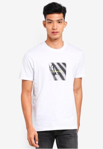 Cotton On 白色 休閒印花T恤 4C6CDAAEAF1BE7GS_1